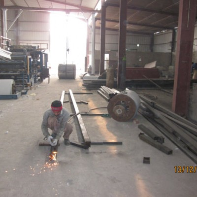 steel construction fabrication